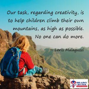 Child on mountain